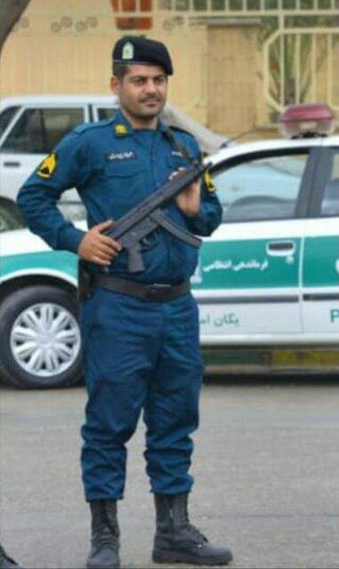 فردا ، تشییع پیکر مطهر شهید ضرغام پرست در ماهشهر