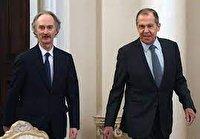 دیدار فرستاده ویژه سازمان ملل در امور سوریه با لاوروف