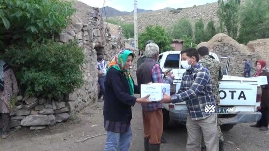 صدای پای خدمتگزاران در مناطق سیلزده راین کرمان