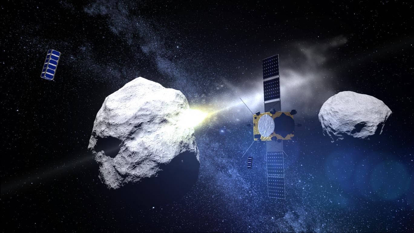 کشف ۲ سیارک سرخ شگفتانگیز