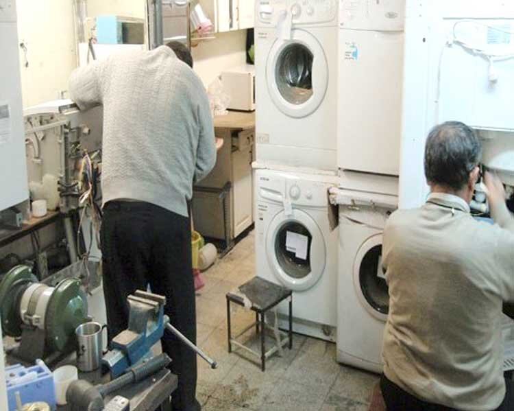 افزایش تقاضا برای تعمیر لوازم خانگی