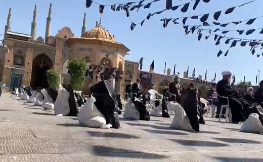 توزیع ۴۰۰ بسته معیشتی در استان قزوین