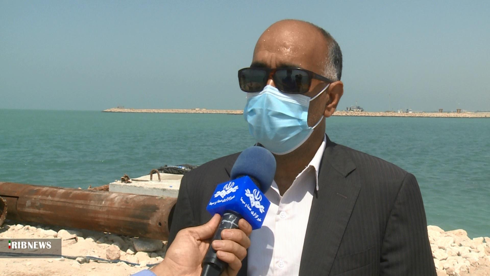 آب شهر بوشهر در یکی دو روز آینده عادی میشود