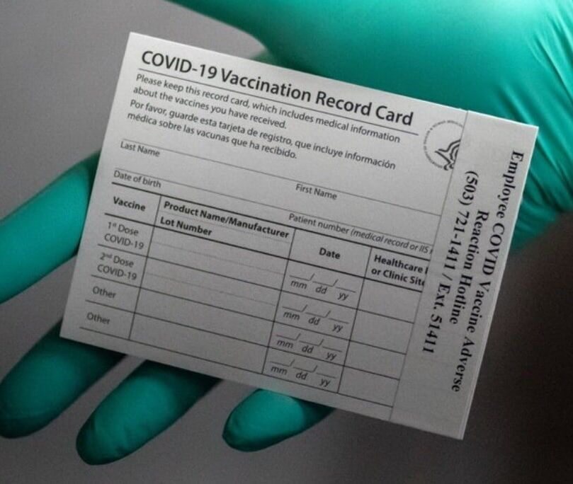 شرایط صدور کارت واکسن کرونا چیست؟