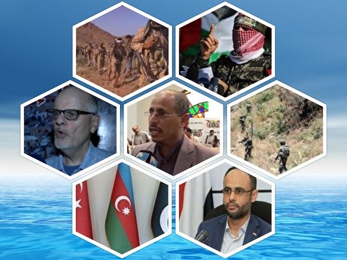 از ادامه درگیری در کرانه باختری تا توطئه انگلیس علیه مقاومت یمن