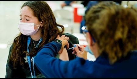 واکسیناسیون کودکان ۱۲ تا ۱۵ ساله در انگلیس
