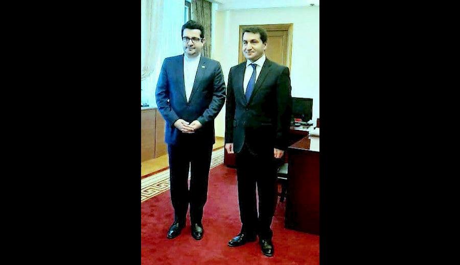 دیدار سفیر ایران با دستیار ویژه رئیس جمهوری آذربایجان