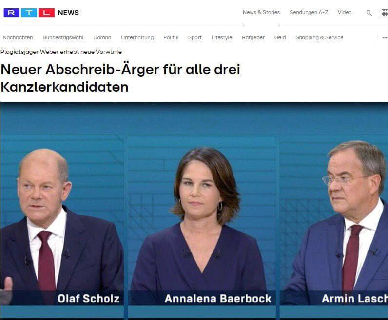 هر سه نامزد صدر اعظمی در آلمان متهم به سرقت علمی