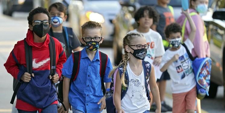 افزایش ابتلا کودکان آمریکایی به کرونا