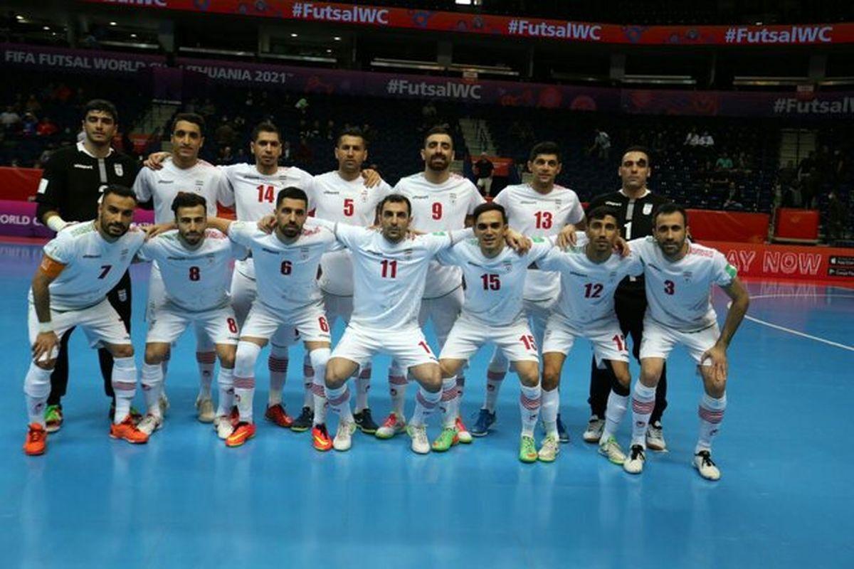 نخستین پیروزی تیم ملی فوتسال ایران