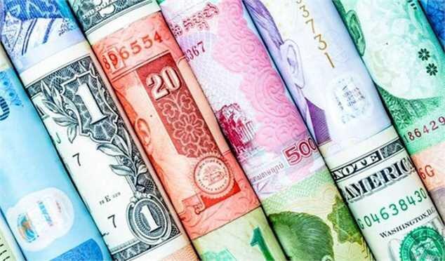 افزایش نرخ رسمی ۲۴ ارز در ۶ شهریور ۱۴۰۰