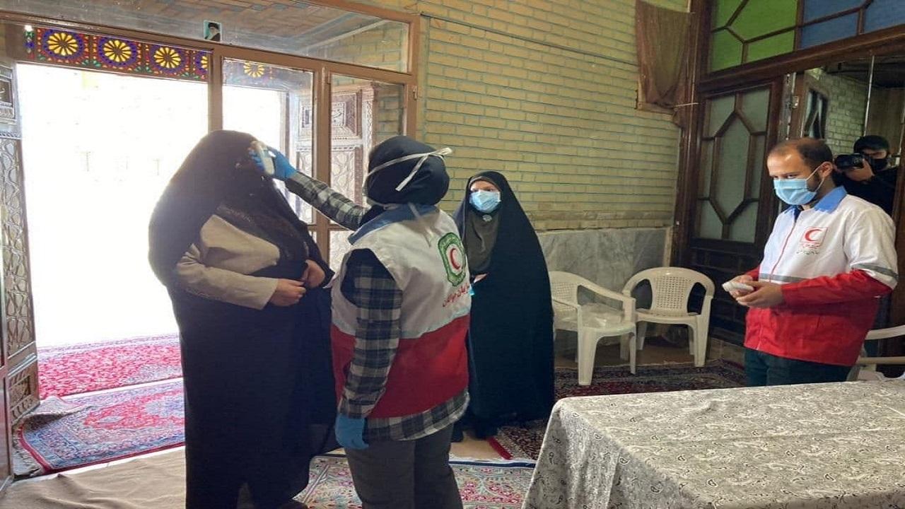راه اندازی قرارگاه عملیاتی کرونا در هلال احمر استان قزوین