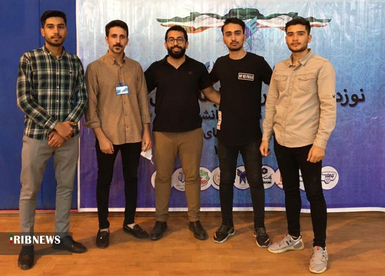 زنجان بر سکوی دوم مسابقات بتن