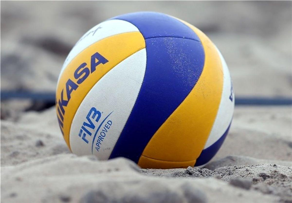 پایان رقابتهای والیبال ساحلی جوانان استان قزوین