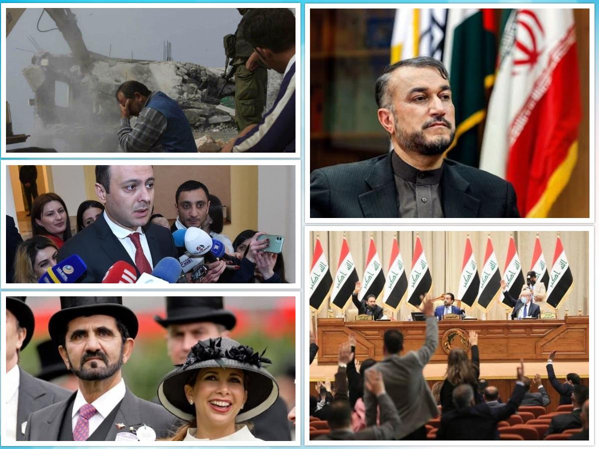 از تبلیغات انتخابات در عراق تا تاکید ایران بر حمایت از لبنان