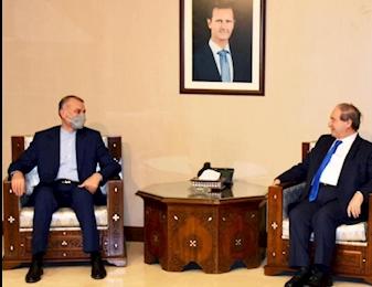 وزیر امور خارجه ایران به سوریه سفر می کند