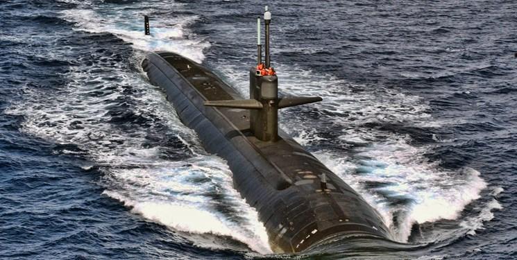 حادثه برای زیردریایی آمریکایی در منطقه ای پرمناقشه