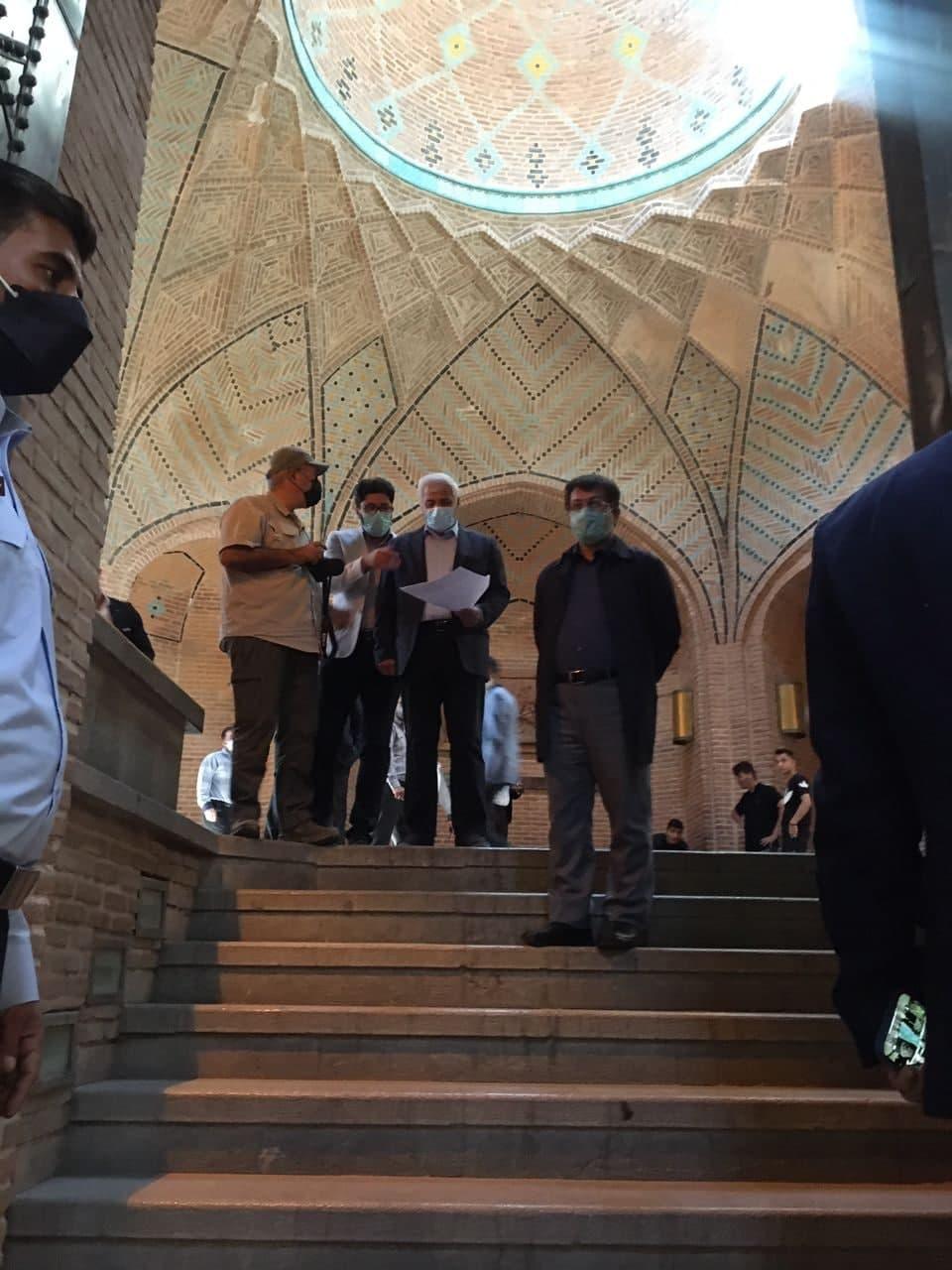 بازدید ارزیاب یونسکو از سرای تاریخی سعدالسلطنه