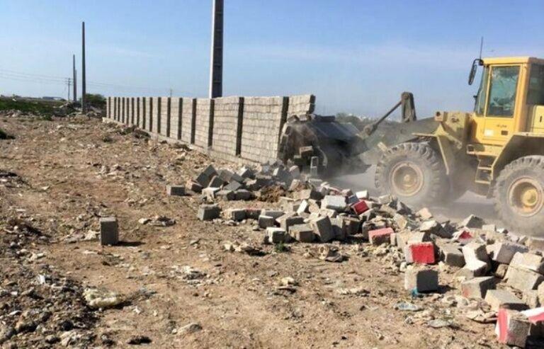 صدور حکم تخریب برای ۱۱۰ ساخت وساز غیر مجاز در آبیک
