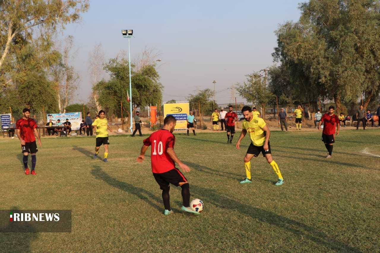 پایان اولین دوره مسابقات فوتبال کارگری اندیمشک