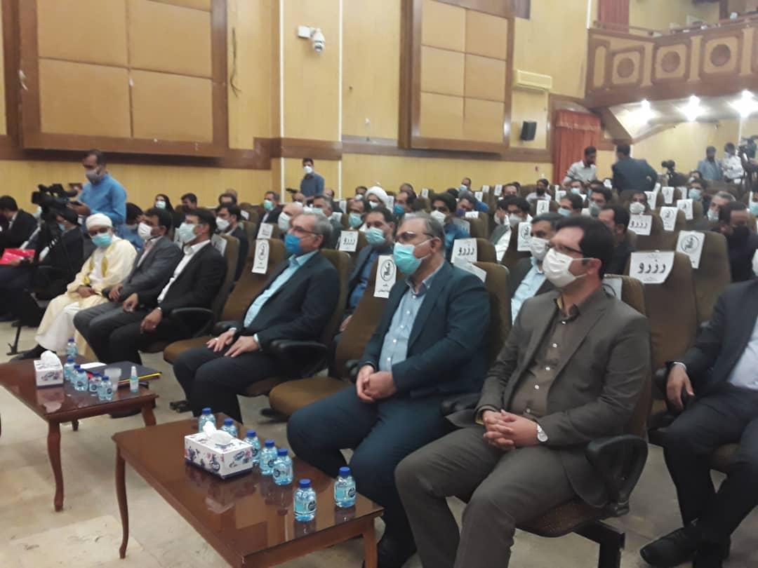 سفر وزير بهداشت به خنج