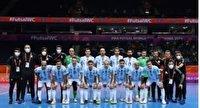 صعود تیم ملی فوتسال آرژانتین به نیمه نهایی