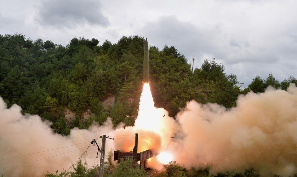 کره شمالی مجددا آزمایش موشکی انجام داد