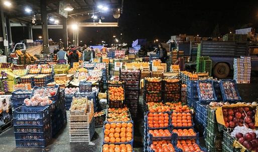 انواع میوه و صیفی در بازار چند قیمت خوردند؟