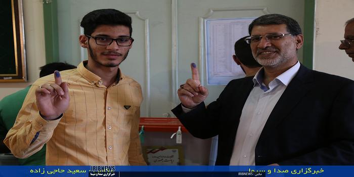 حضور مردم خرم آباد در انتخابات
