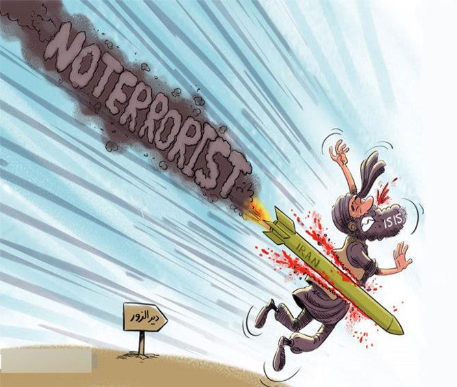 پیام موشک های ایران به دشمنان