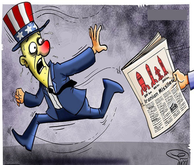 وحشت اسکبار از قدرت موشکی ایران