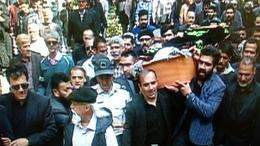 مراسم وداع با پیکر هنرمند مرحوم امروز در مشهد