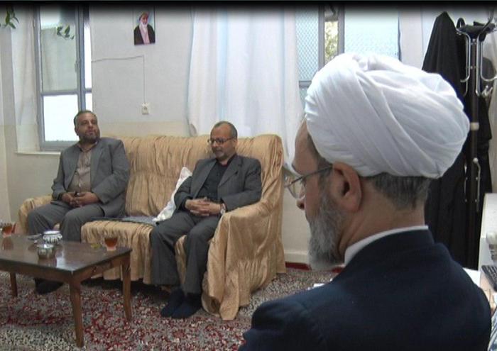 دیدار استاندار باحجت الاسلام اعرافی امام جمعه میبد ورئیس حوزه علمیه های کشور