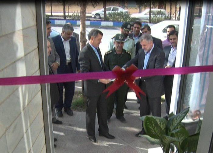 افتتاح دفتر خدمات الکترونیک قضایی در میبد