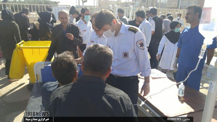 امدادرسانی گروههای امدادی اردبیل به زلزله زدگان کرمانشاه