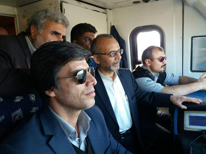 بازدید استاندار از راه آهن یزد وبررسی فعالیتها ، عملکرد وروند اجرای طرحهای ریلی استان