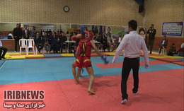 مسابقه دوستانه ووشو بین تیمهای منتخب آذربایجان غربی و آذربایجانشرقی +گزارش
