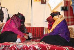 مراسم سنتی کف زنی در روستای ایوربخش کوهسرخ