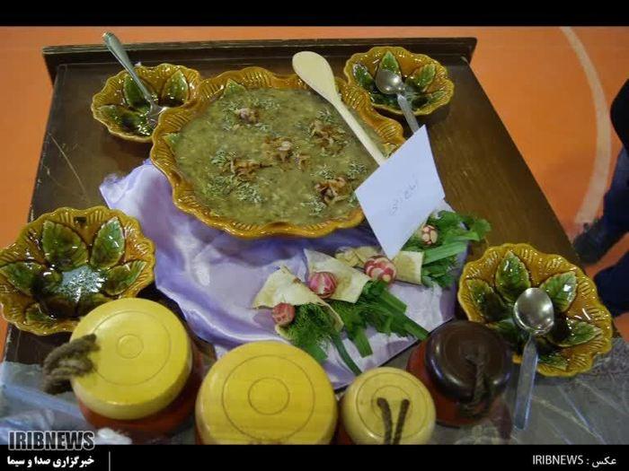 جشنواره غذاهای بومی محلی زمستانی هشتجین