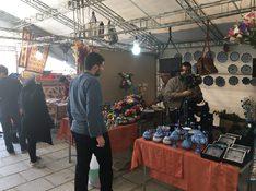 روابط عمومی شهرداری منطقه 20 نمایشگاه صنایعدستی در کاروانسرای صفوی دایر شد