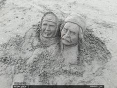 برپایی جشنواره مجسمههای شنی در رودسر