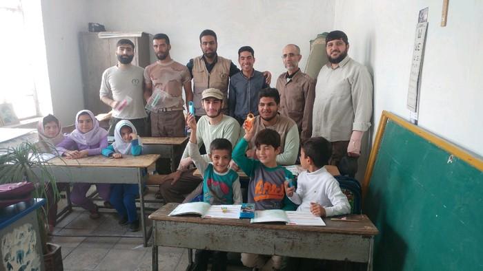 تلاشهای بیمنت، خادمان جهادگر در روستای چمن امیرآباد طارم سفلی
