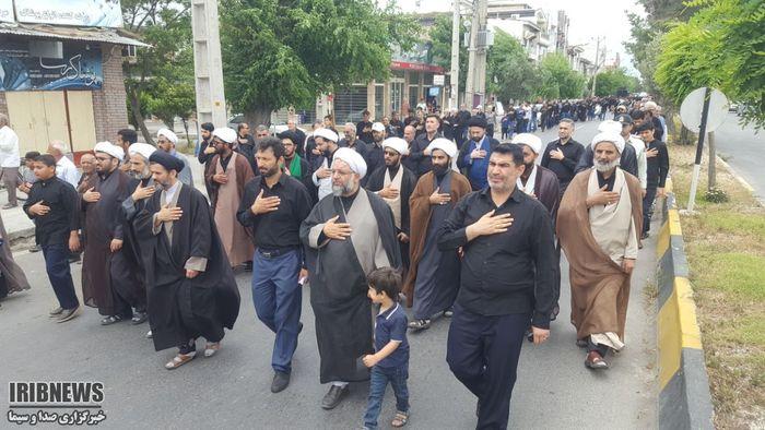 سوگواره خیابانی - بندر ترکمن