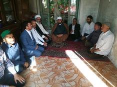 صله رحم و عیادت بیماران بعد از نماز عید قربان در شهر درود