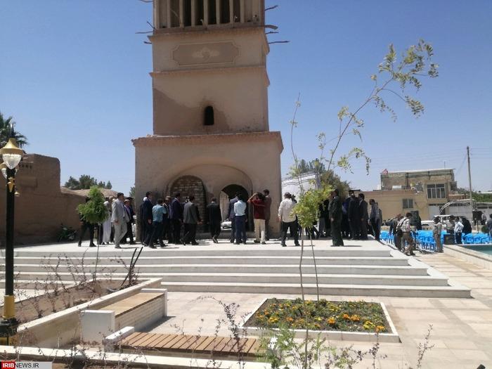 افتتاح گذر فرهنگی و گردشگری و پردیس معین در رفسنجان