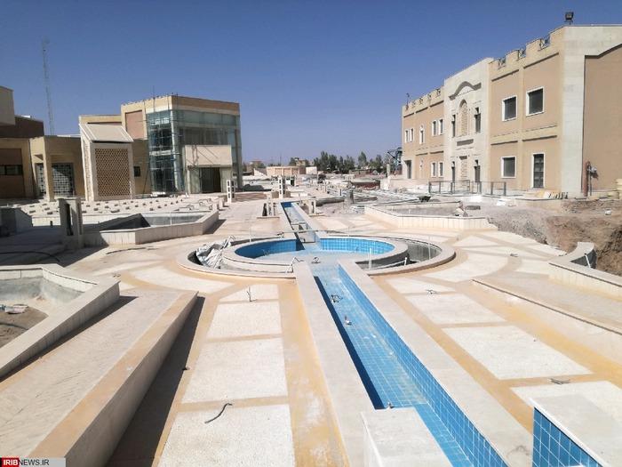 بازدید از مجموعه بزرگ فرهنگی و ورزشی آگاه در رفسنجان