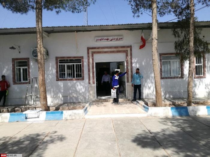 بازدید از مهمانشهر (محل سکونت تعداد زیادی از خانواده های مهاجر افغانستانی)