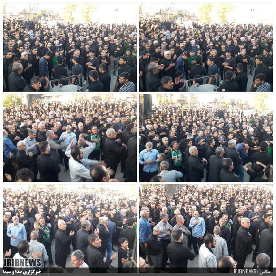 عزاداری مردم پلدختر در عاشورای حسینی