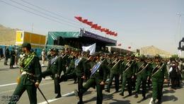 مراسم رژه مشترک نیروهای مسلح در مشهد