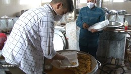 توزیع بیش از ۷۰۰ پرس غذای گرم در شهر وزوان